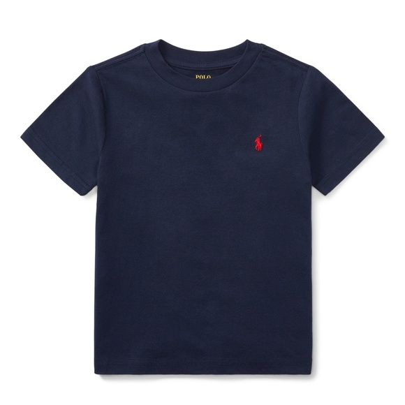 cefe09f8 Ralph Lauren Polo Cotton Jersey Crewneck T-Shirt NWT